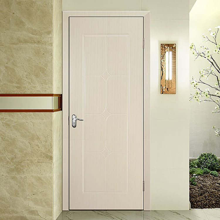Simple Design PVC Interior Hinged Door