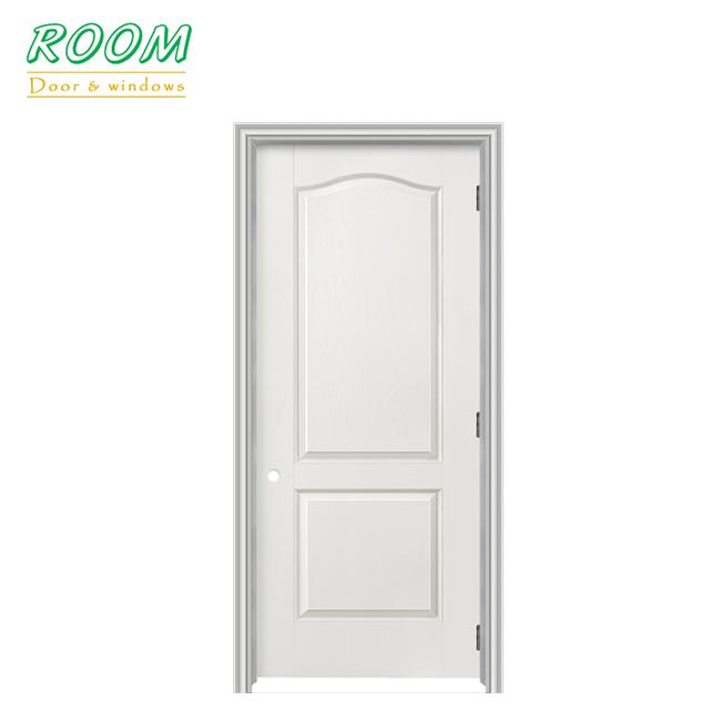 36 in. x 96 in. 2 Panel Interior Wood Prehung Door
