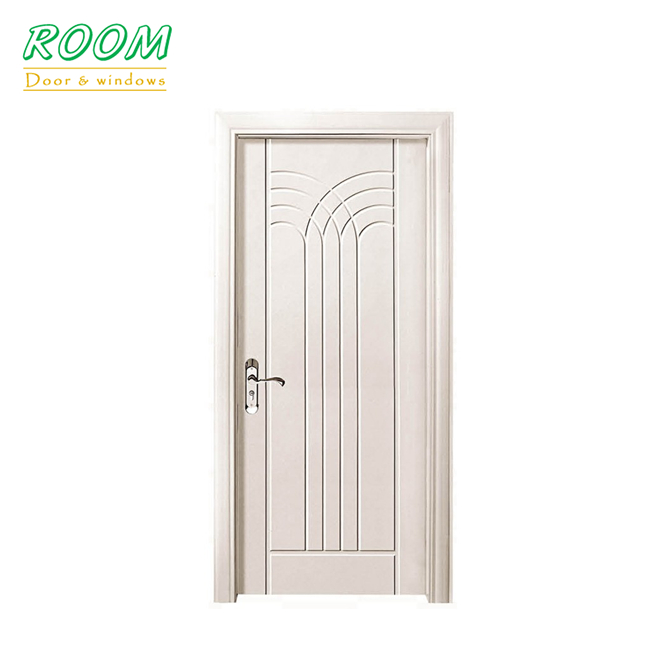 China modern pvc mdf bedroom wooden door designs