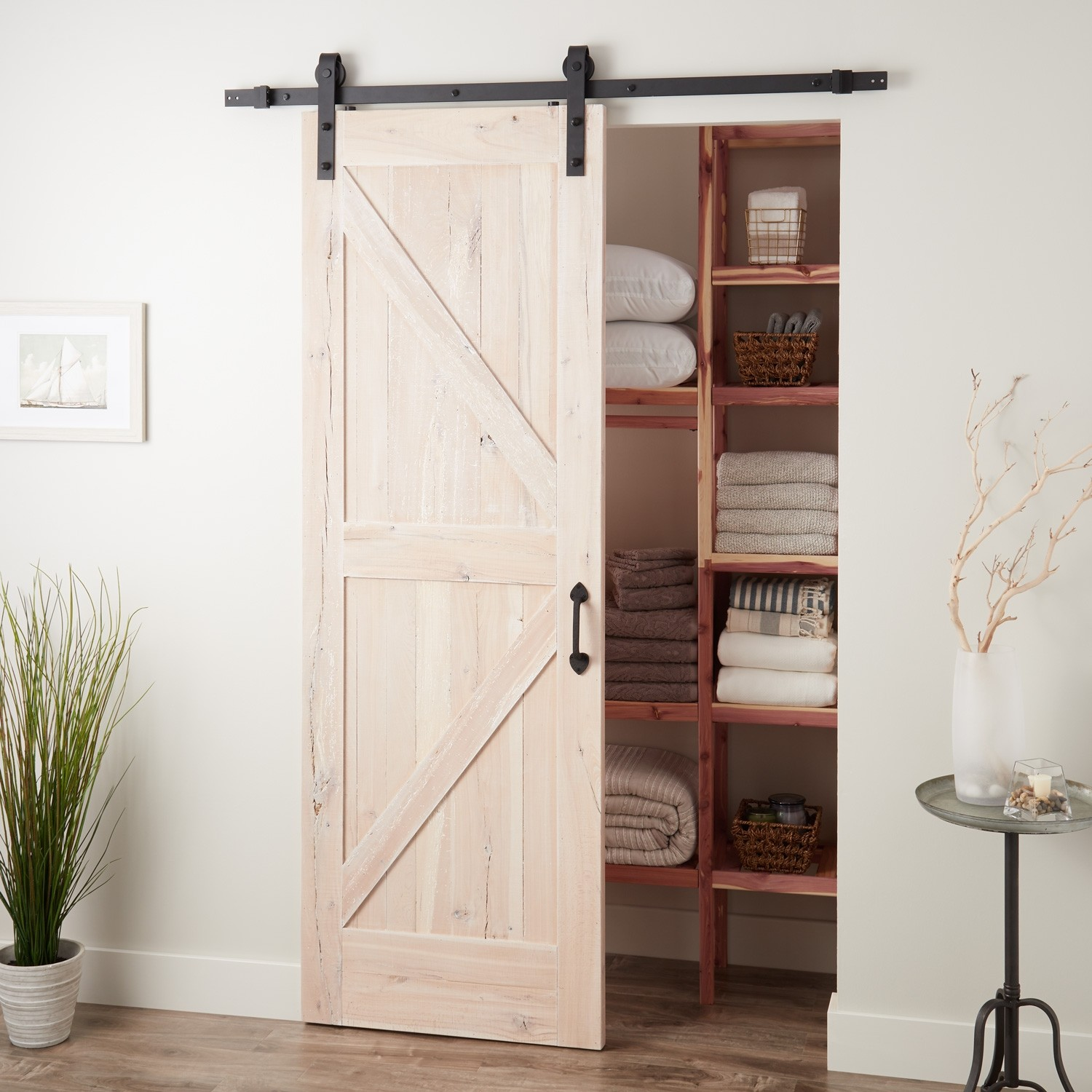 Hotels soundproof interio cheap sliding barn doors