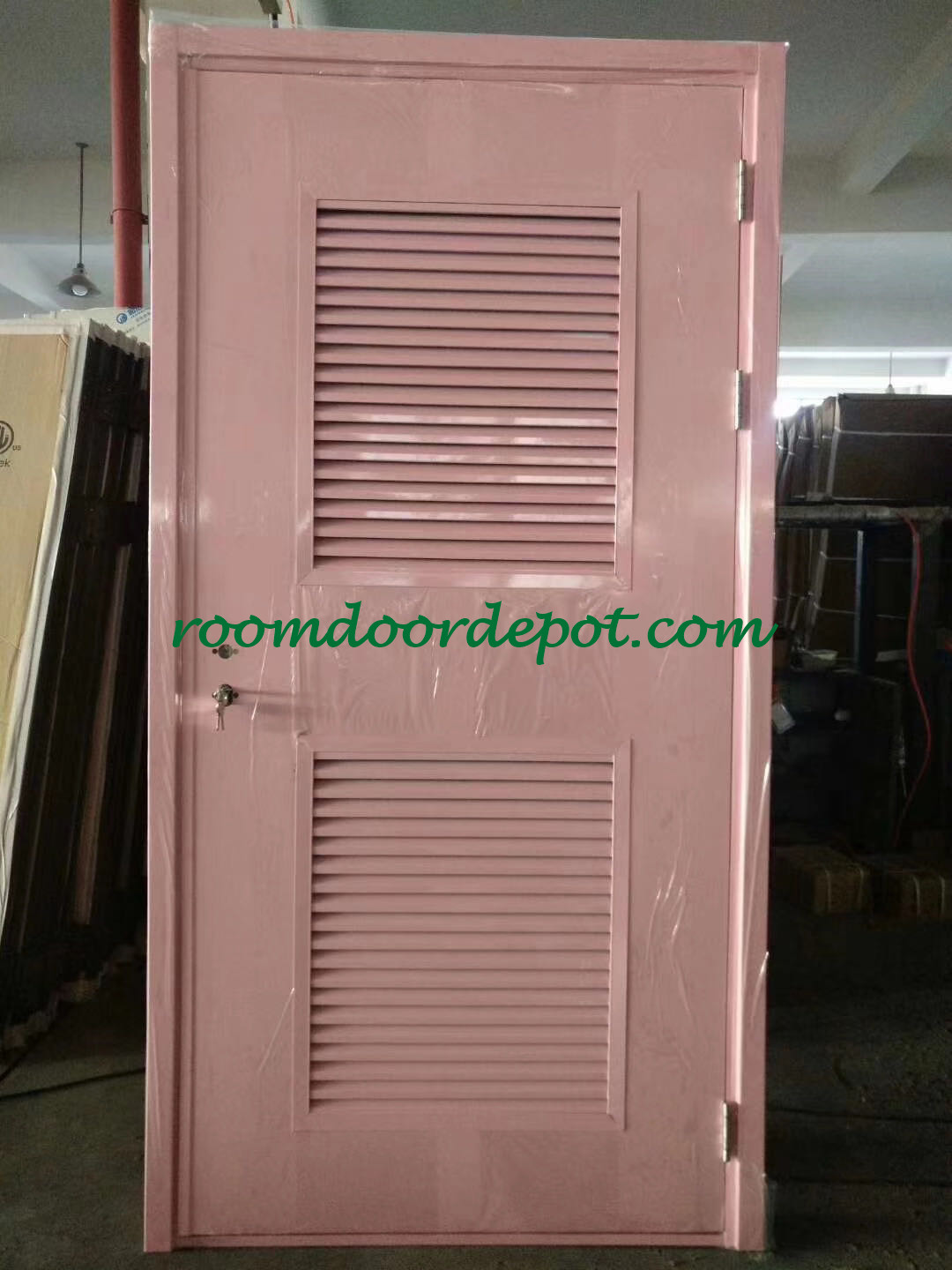 customization steel louver doors for project use