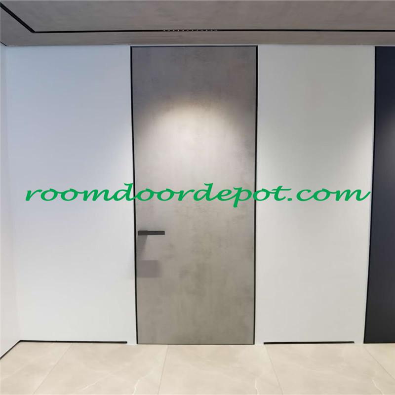 interior use flush design hidden hinge doors
