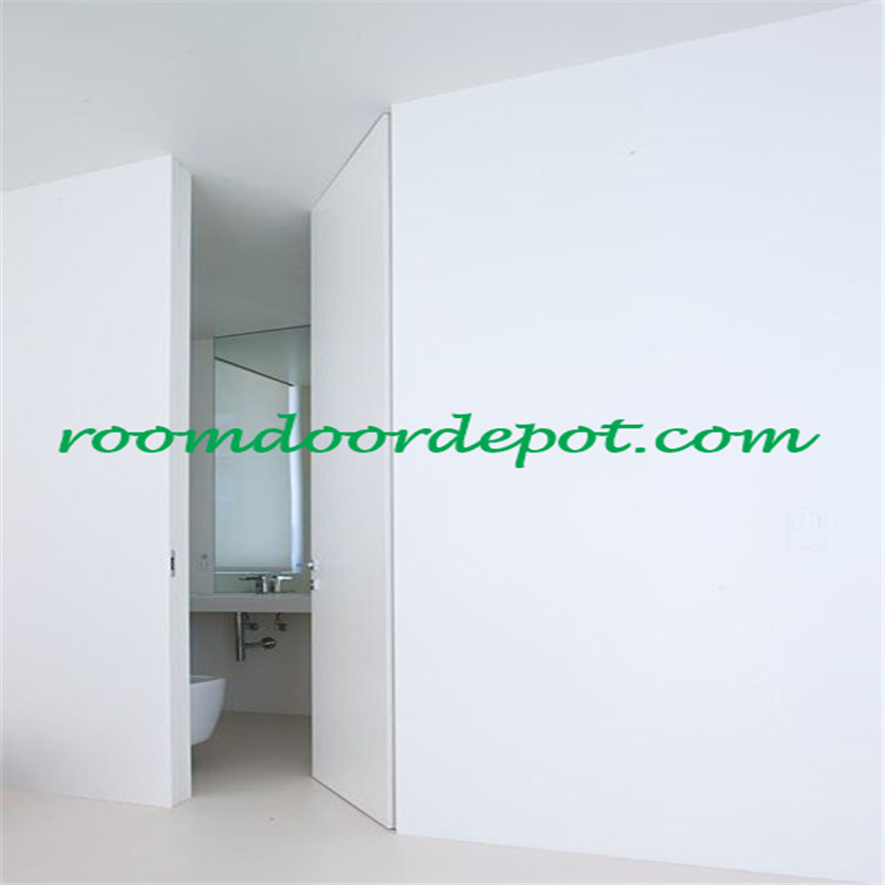 frameless interior hidden doors with invisible hinges
