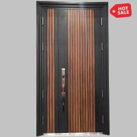 Steel Wooden Entry Door