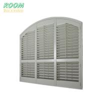 Basswood plantation wooden shutter louvered windows