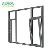 European style cheap tilt and turn aluminum window for sale