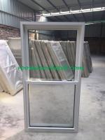 vertical slide vinyl windows with install fin for north america market