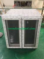 good price hurricane proof upvc casement windows made in guangzhou factory